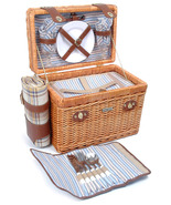 BRIO COLLECTION WILLOW & WOOD DELUXE PICNIC BAS... - $103.00