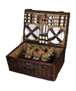 PROVENCE ENHANCED CARRIER WILLOW PICNIC BASKET ... - $120.00