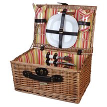 VERANDA COLLECTION WILLOW PICNIC BASKET FOR TWO (2) - A - $59.00