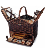 CLASSIQUE ELITE WILLOW PICNIC BASKET FOR TWO (2) - $119.00
