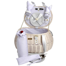 WILLOW WEDDING PICNIC BASKET FOR TWO (2) - $108.00
