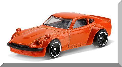 Hot Wheels - Custom Datsun 240Z: Factory Fresh #3/10 - #174/365 (2017) *Orange*
