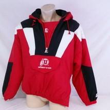 Vintage University of Utah Utes Starter Pullover Coat Parka Jacket Winte... - $129.99