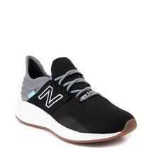 Mujer New Balance Fresh Foam Roav Atlético Zapato Negro Luz Aluminio - $109.78