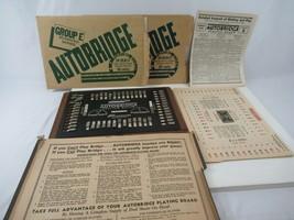 Autobridge Playing Board Bridge Game Deal Sheets Group B E Vtg 1950s - $72.38
