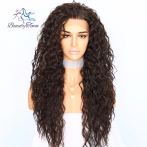 BeautyTown Kinky Curly Type Futura Heat Resistant Hair Black Highlight Gold Wome - $71.60