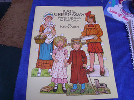 KATE GREENWAY PAPER DOLLS IN FULL COLOR by Kathy Allert - $9.49