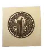 Sture Sturen Pam Georg Rueter Holland Ex Libris Exlibris Bookplate - $29.69
