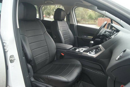 PEUGEOT 3008 SEAT COVERS PERFORATED LEATHERETTE eco-leather - $173.25