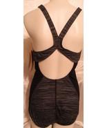 Women's Speedo Touchback Space-Dye One-Piece Swimsuit, Size: 14, Drk Purple - $49.50