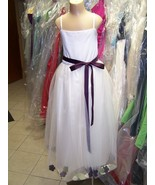 NEW...Flower Girl Dress 4006......Ivory.....Size 2..NWT - $39.59