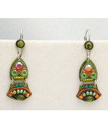 Signed ADAYA Maya Micro Mosaic Earrings - $39.99