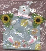 LITTLE GIRL CLOTH BUNNY RABBIT PURSE - $6.00