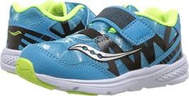 Saucony Kids' Baby Ride Pro Running-Shoes,Ocean Wave Blue,10.5 Wide US Little Ki