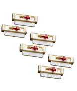 Seat Belt Tension Adjuster 6-Pack, White to Get Seatbelts Off Your Neck - $12.98