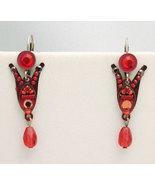 Signed ADAYA Maya Micro Mosaic Earrings - $33.00
