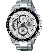 Casio Men's Edifice Silver Chrono Dial Stainless Watch - $86.43