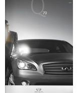 2014 Infiniti Q70 SEDAN sales brochure catalog US 14 3.7 5.6 Hybrid M37 M56 - $8.00