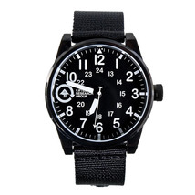 LRG Lifted Timing Group Field & Research 40mm Black Steel Wrist Watch New in Box
