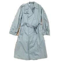 Vietnam Era 1967 US Army Raincoat Quarpel Trench Overcoat w/ Belt  Mens Size 42L - $56.75