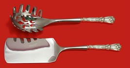 Iris by Durgin-Gorham Sterling Silver Italian Pasta Server Set 2pc HHWS  Custom - $388.55