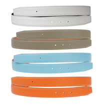 H Belt Replacement Strap Reversible Genuine Leather Belt 32mm Width for ... - $46.99