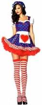 Leg Avenue Darling Dollie Sexy Halloween Costume Cosplay Dress Bonnet S ... - $6.57