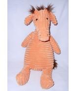 Jellycat Cordy Roy Giraffe Orange Corduroy Plush Stuffed Animal Brown Ma... - $14.82