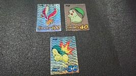 Meiji Pocket Monster New Get Card  Rainbow glitter Pokemon Japan Limited... - $40.19