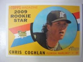 2009 Topps Heritage Short Print Baseball Card-#693 Chris Coghlan-Rookie ... - $5.00