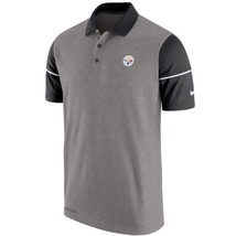 Pittsburgh Steelers NFL Nike Dri-Fit Championship Drive L Golf Polo Shir... - €49,71 EUR