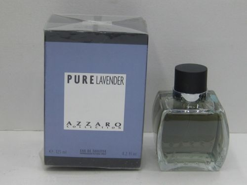 PURE LAVENDER BY AZZARO 4.2 OZ/ 125 ML EAU DE TOILETTE SPRAY FOR MEN