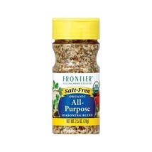 Frontier Herb All Purpose Seasoning - Salt Free - Case Of 6 - 2.5 Oz. - $51.52