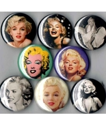 Marilyn Monroe 8 pins buttons badges - $22.99