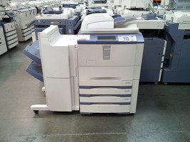 Toshiba E-Studio 555 Copier-Printer-Scanner. Stapling Finisher Included - $2,702.34
