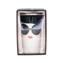 Starbucks Alice Olivia Bow Stace Face Print Ceramic Traveler Tumbler Cup... - $124.74