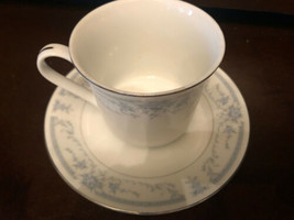 Sheffield  Blue Whisper Japan Cup & Saucer - $13.55