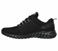 52821 Wide Fit Black Skechers shoe Men Memory Foam Sport Comfort Train Walk Mesh image 3