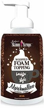 Jordan's Skinny Syrups | Sugar Free Marshmallow Whipped Foam Coffee Topping | He - $13.43