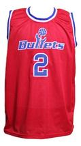 John Wall #2 Washington Basketball Jersey Sewn Red Any Size image 1