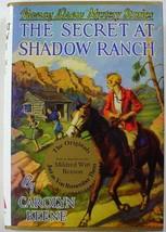 Nancy Drew Mystery The Secret At Shadow Ranch no.5 Applewood hcdj Caroly... - $6.99
