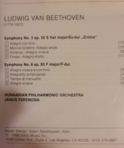 Beethoven Collection 2: Symphonies 3 & 8 Vol 2 Cd image 2