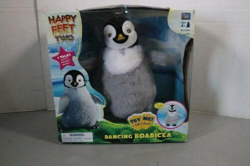 Happy Feet Two 2 Dancing Penguin Sings Talking Dancing Box Boadicea Toy