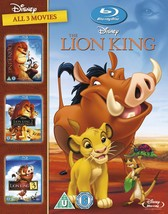 The Lion King 1-3 1994  Region Free - $25.22
