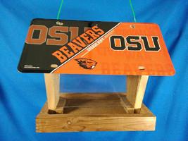Oregon State University Beavers license plate bird feeder (MTG510304) - $65.00