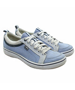 KEDS Center Womens Size 6 Blue Chambray Lace-up Retro Classic Sneakers - $18.21