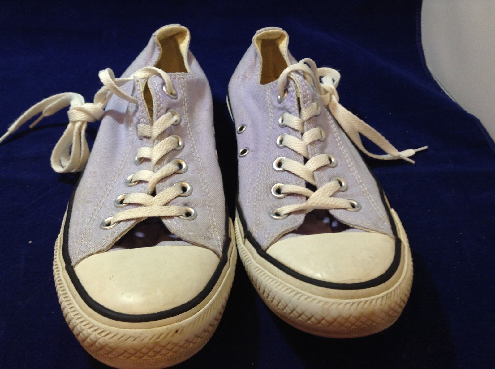Lavender Converse All Star's Men's 7 Women's 9