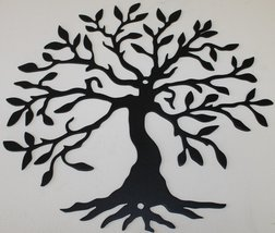 Tree of Life 2 Metal Wall Art- Flat Black - $18.00+