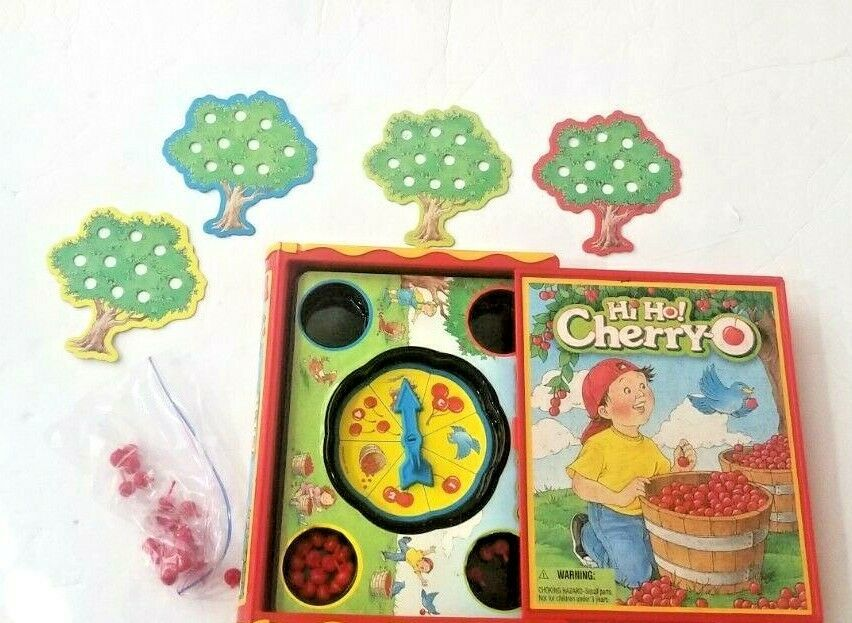 Primary image for Hi Ho! Cherry-O Memory Classic Preschool Bookshelf Edition Game Hasbro MB