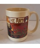 Harley Davidson Coffee Mug 'The Art of Motorcycles' 2005 - $19.39
